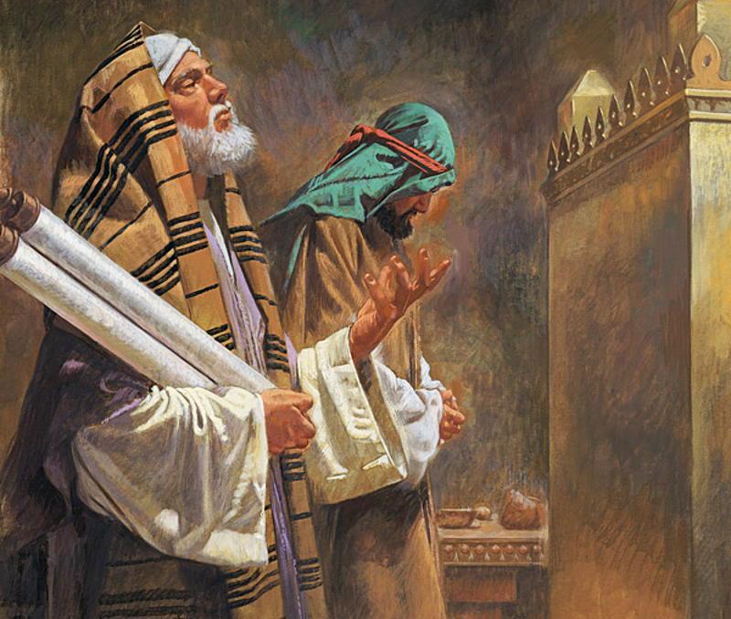 Две молитвы (два пути духовной жизни)